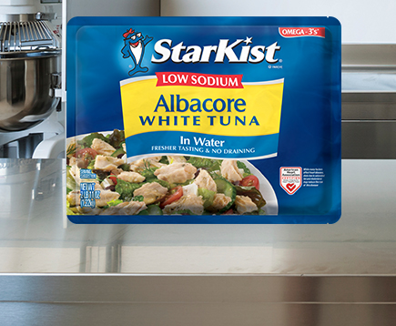 Low Sodium Albacore Chunk White Tuna in Water