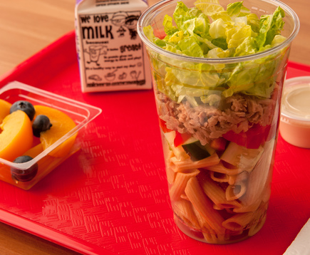 Tuna and Pasta Salad Shaker Cup