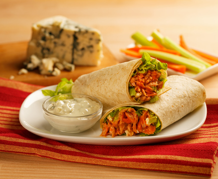 Buffalo Tuna Wrap