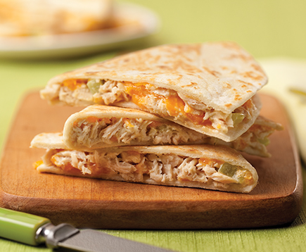 Charlie's Tuna Melt Quesadilla