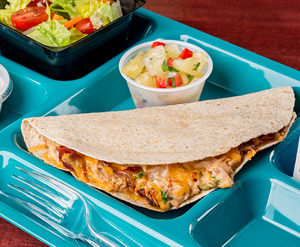 Chipotle Tuna Quesadilla