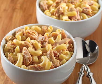 Classic Tuna Mac & Cheese