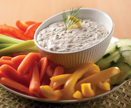 Creamy Tuna Dip with Dill