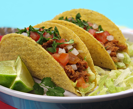 Hungry Girl's Sweet & Spicy Tuna Tacos