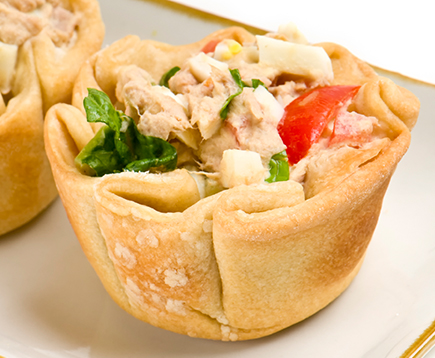 Tuna Salad Cups