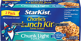 Charlie's Lunch Kit® Chunk Light Tuna in Water