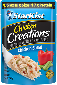 NEW Chicken Creations® Chicken Salad — 4.5 oz. Big Size pouch