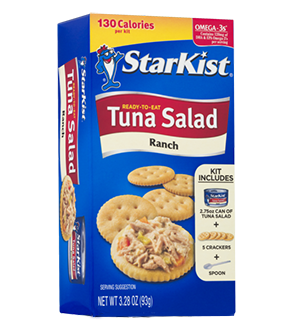 Ready-To-Eat Tuna Salad Kit, Ranch