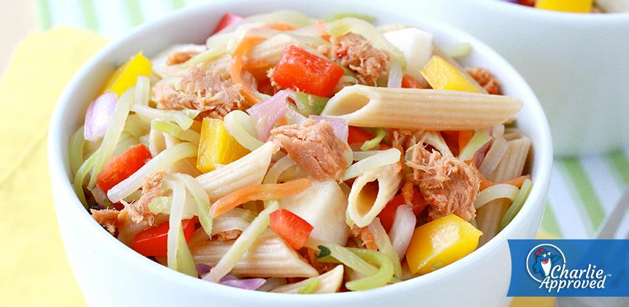 Hungry Girl's Sweet & Spicy Tuna Pasta Salad