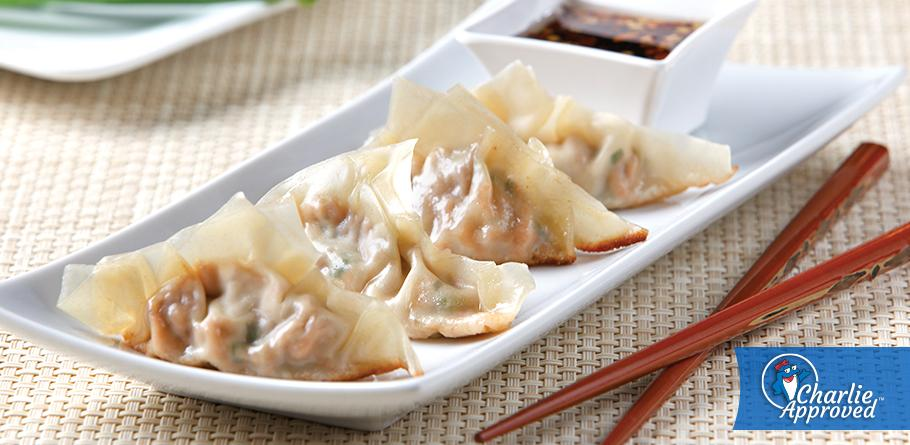 Sweet and Spicy Pot Stickers