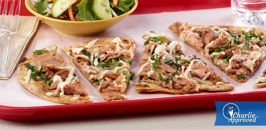 Tuna Flatbread Pizza