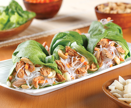 Sweet and Spicy Lettuce Wraps