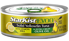 StarKist E.V.O.O.® Solid Yellowfin Tuna with Lemon Dill and Extra Virgin Olive Oil